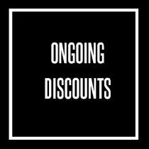 ongoing discounts