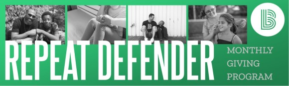 Repeat Defender header