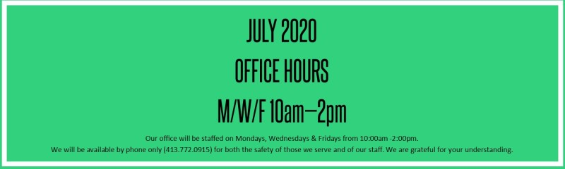 July Office Hours