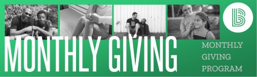 Monthly Giving Header